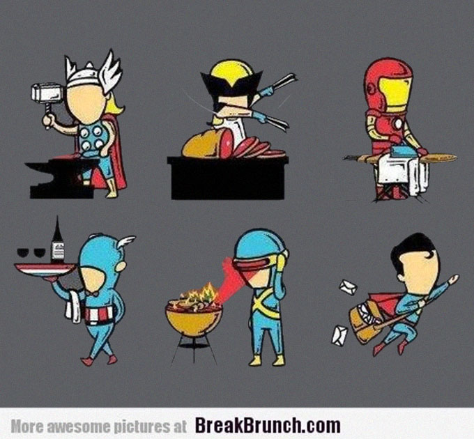 superheroes-summer-job-funny-picture