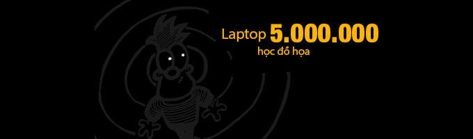 laptop học đồ họa 5.000.000đ
