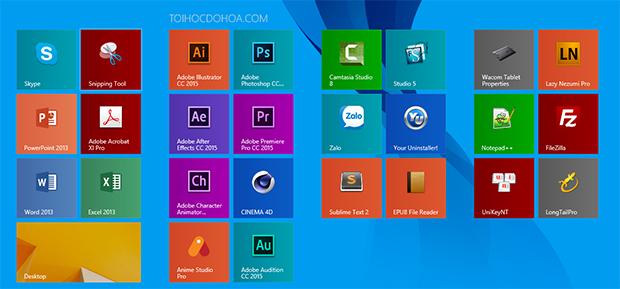 cấu hình laptop đồ họa sẽ phụ thuộc vào phần mềm